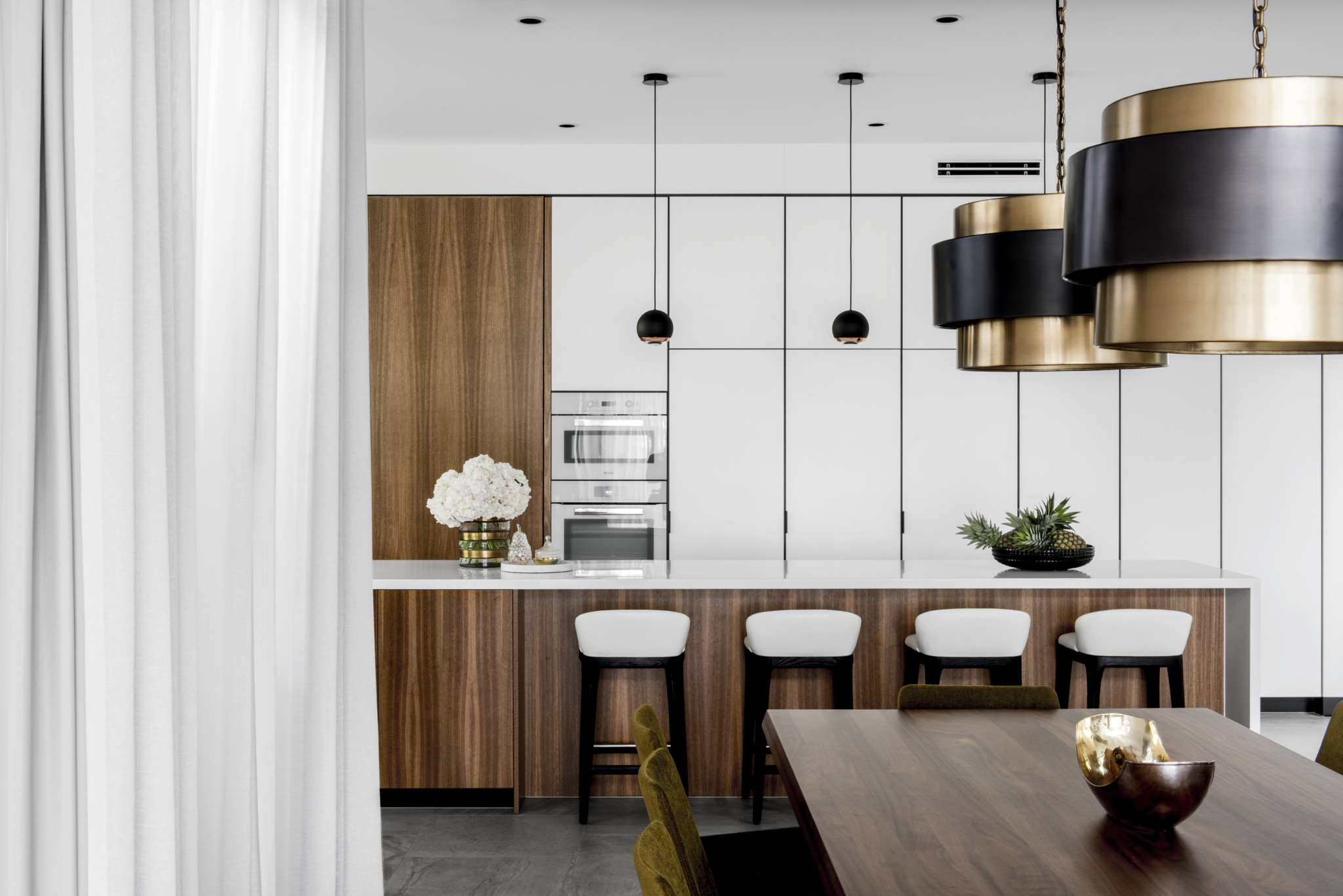 Brisbane Residential Interior kitchen area