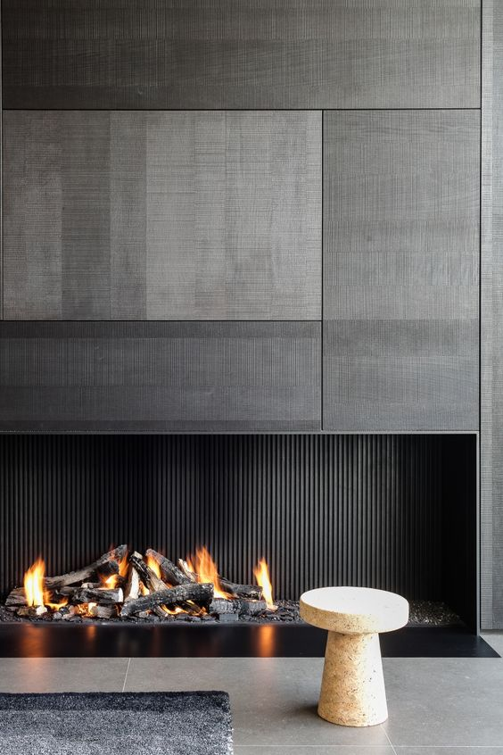 Fireplace Image via Pinterest