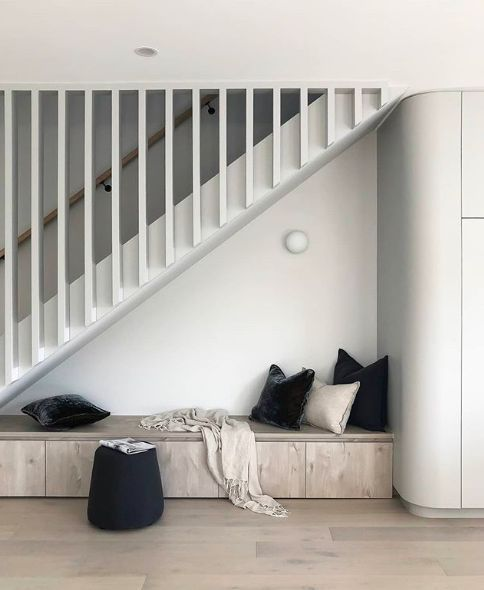 Design by Zephyr and Stone under stairs design